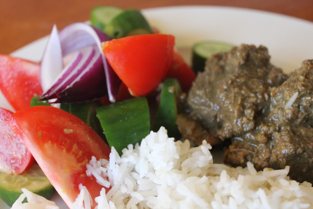 Beef rendang (the easy way and the long way)