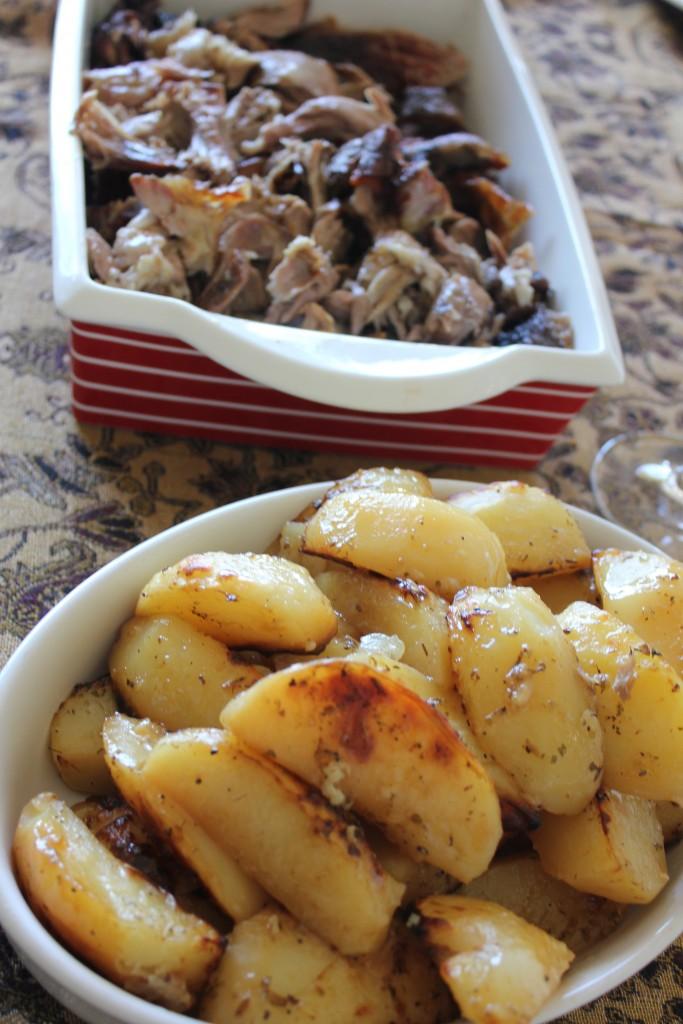 Greek lamb and lemon potatoes