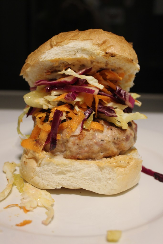 Chicken and chorizo burgers