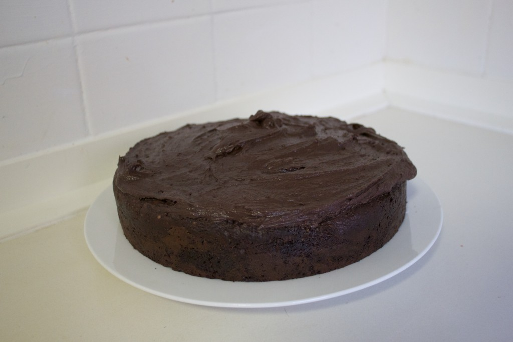 Scrumptious chocolate and yoghurt cake