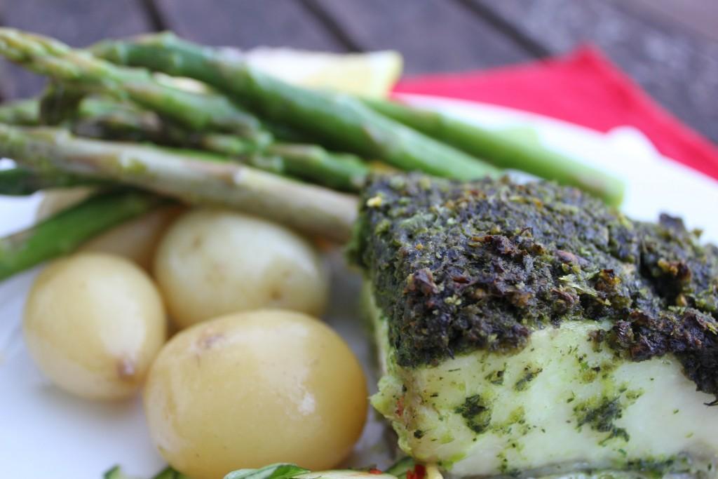 Basic herb crust